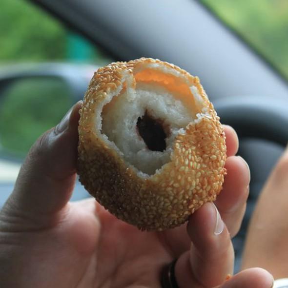 Sesame mochi ball @ New Town Bakery & Restaurant