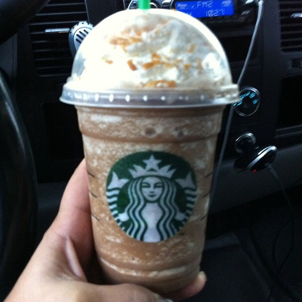 Mocha Chocolate Frappachino @ Starbucks