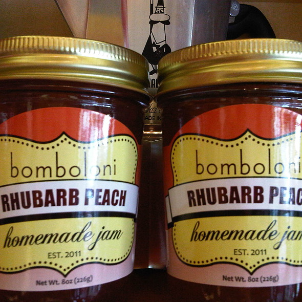 Assorted Jams @ Bomboloni