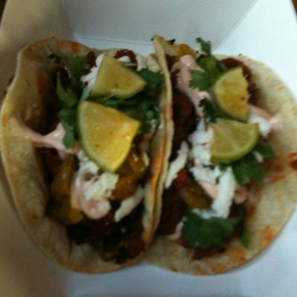 Chorizo Tacos @ Holy Grale