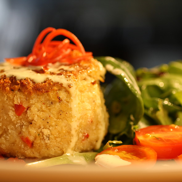 Jumbo Lump Crab Cakes @ A La Carte Cafe Carryout & Catering