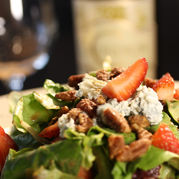 Strawberry Balsamic & Bleu @ A La Carte Cafe Carryout & Catering