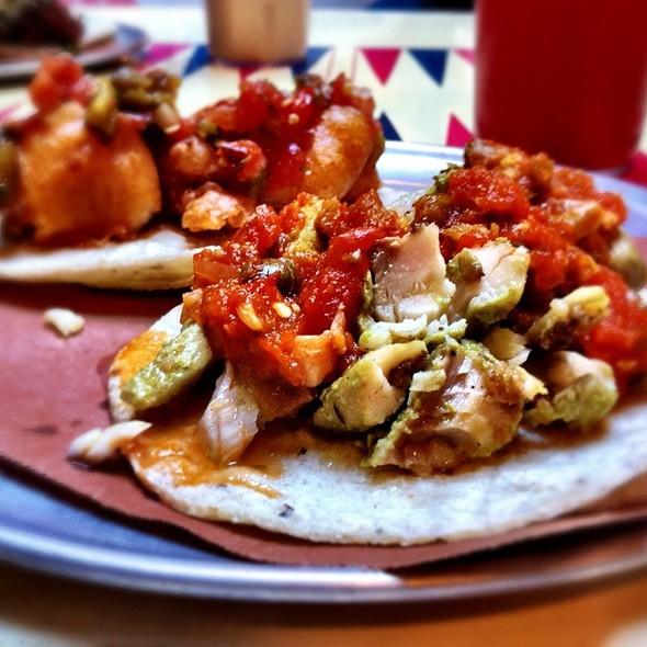 Veracruzana Fish Tacos @ Tacombi @ Fonda Nolita