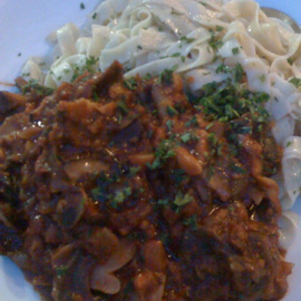 Vegetarian Wild Mushroom Bolognese @ Yaletown Brewing Co