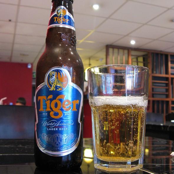 Tiger Lager Beer @ Red N Hot Szechuan Cuisine