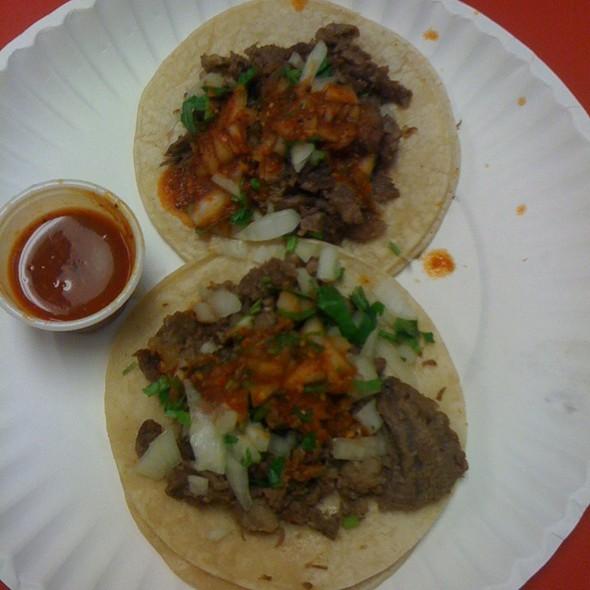 Carne Asada Tacos @ La Villa