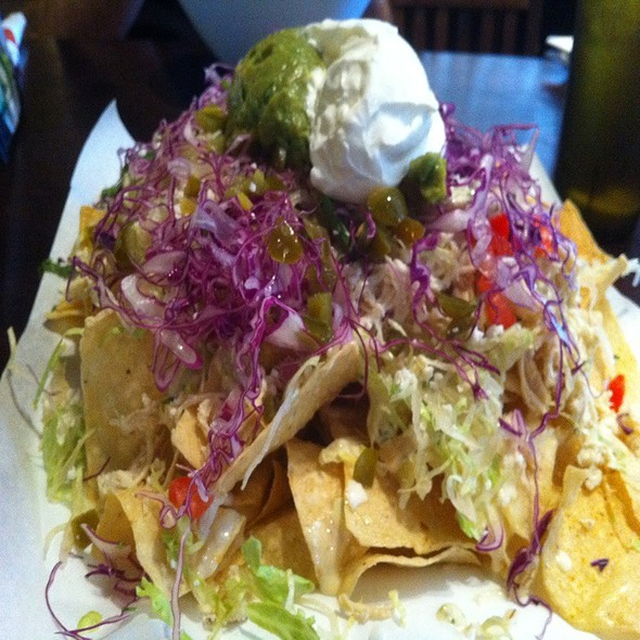 Tequila Lime Chicken Nachos @ Yucatan Taco Stand