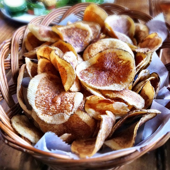 Homemade Potato Chips @ Dick O'Dow's