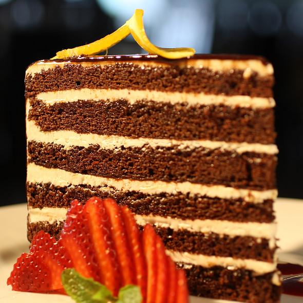 Chocolate Doberge Cake @ A La Carte Cafe Carryout & Catering