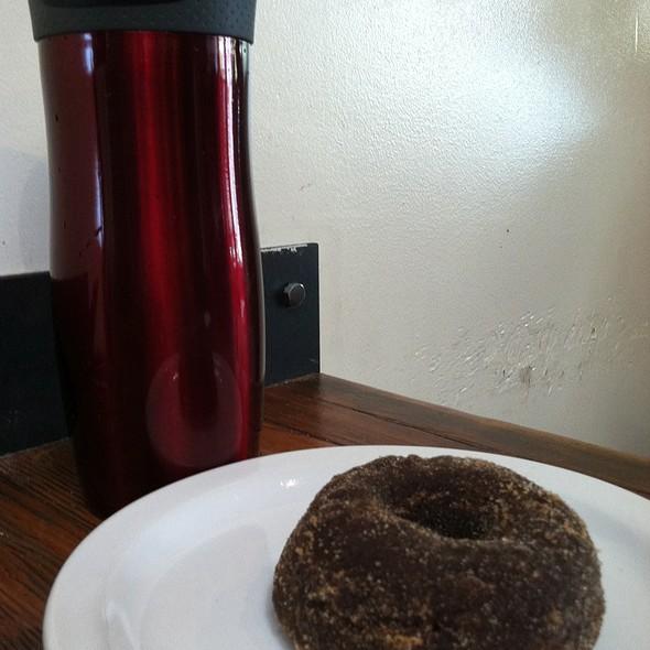 Spiced Chocolate Doughnut And Four Barrel Coffee @ Four Barrel Coffee