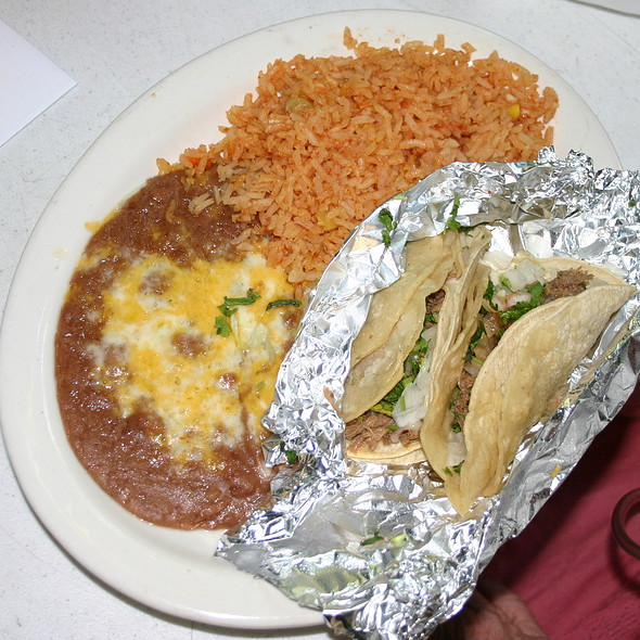 street tacos @ Sergio's Mexican Restaurant