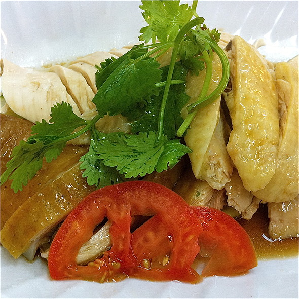 Hainanese Chicken and Soya Chicken @ The Chicken Rice Ex-press