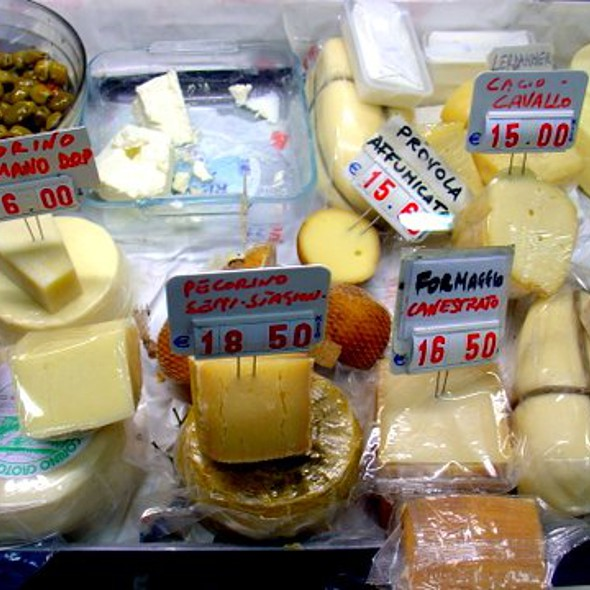 Assorted Italian Cheese