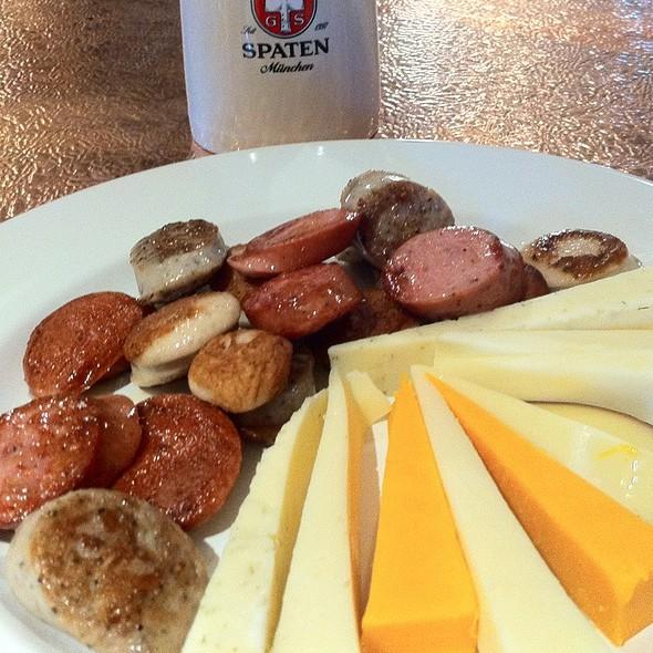 Wurstplatte With Cheese - Old Stein Inn, Edgewater, MD
