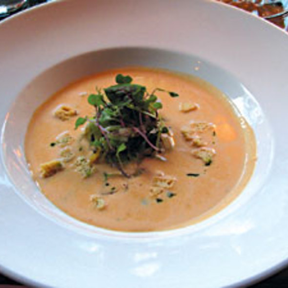 Lobster Bisque - American  Seasons