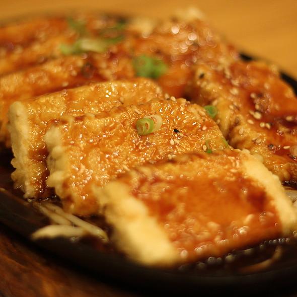 Tofu Teriyaki @ Oshio Restaurant