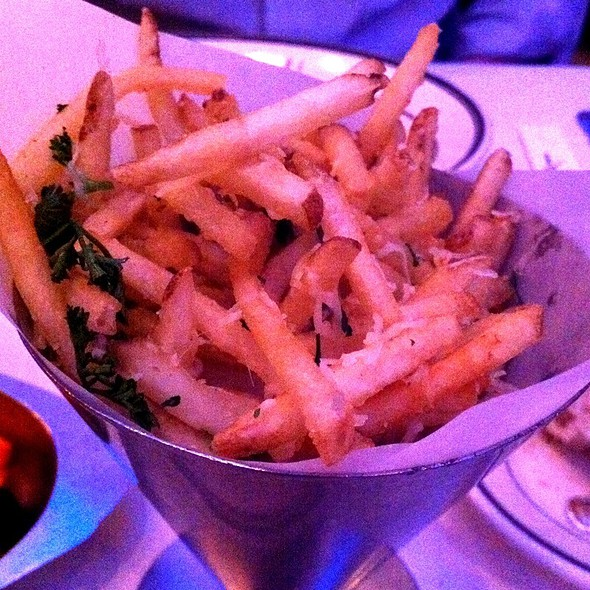 Matchstick Truffle And Parmesean Fries - Oceanaire Seafood Room - Dallas, Dallas, TX
