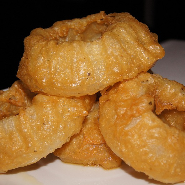 Beer Battered Onion Rings @ Rosebud Prime