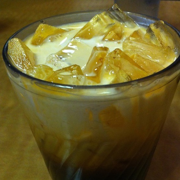 Thai Iced Tea @ King of Thai Noodle On Union