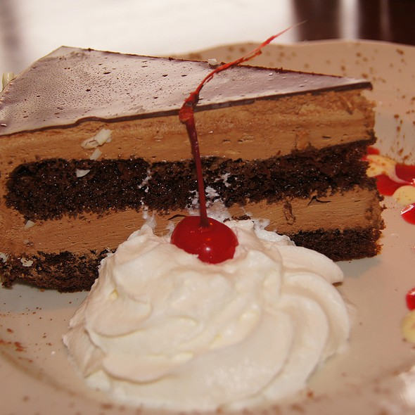 Godiva chocolate mousse cake - Carmine's Chicago, Chicago, IL