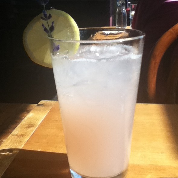 Lavender Lemonade @ Simply Red Bistro at Sheldrake Point Vineyard