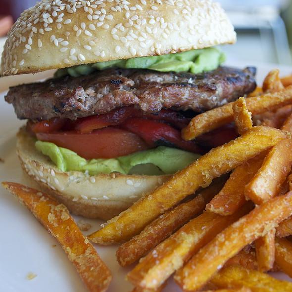 Turkey Burger - Plate Earthy California Cuisine, Malibu, CA