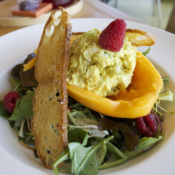 Curry Papaya Salad - Plate Earthy California Cuisine, Malibu, CA