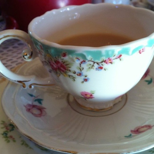 Chestnut Tea @ Lovejoy's Tea Room