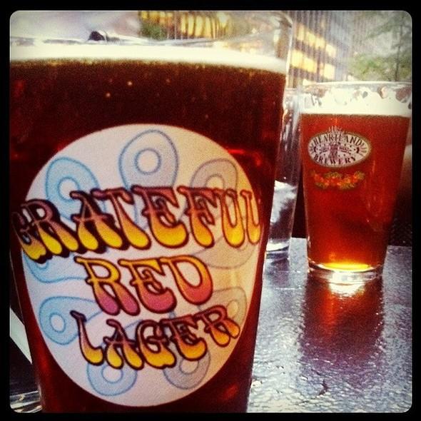 Grateful Red Lager @ Heartland Brewery & Restaurant