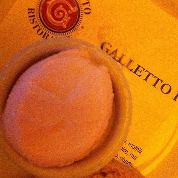 Pink Grapefruit Sorbet - Galletto Ristorante, Modesto, CA