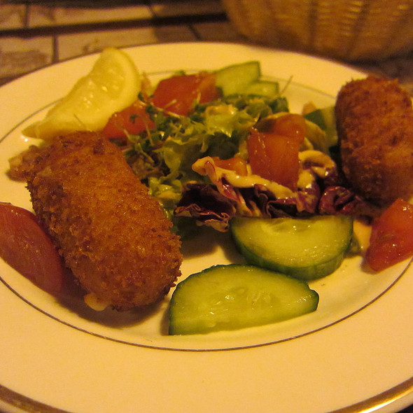 CROQUETTES OF DUTCH SHRIMPS  @ Haesje Claes