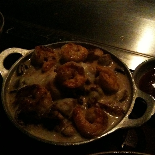 Shrimp And Chicken In Creamy Wine Sauce - Kobe Steaks - Dallas, Dallas, TX