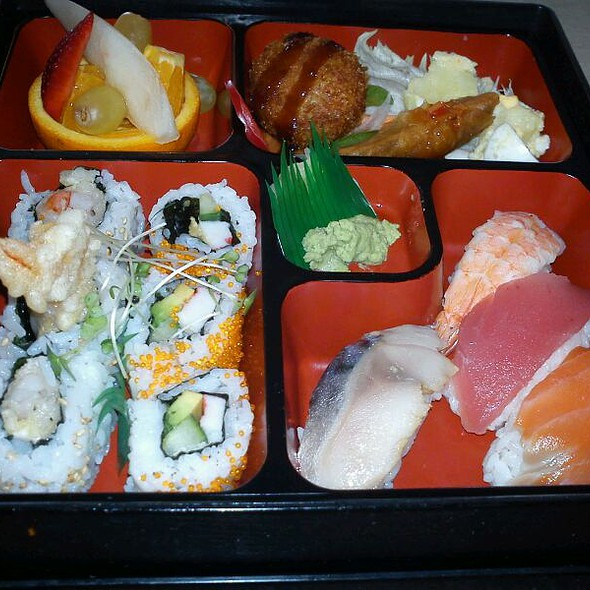 bento box @ Ginger Tree