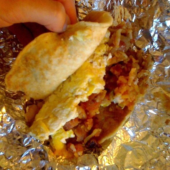 Pancake Taco @ One Taco