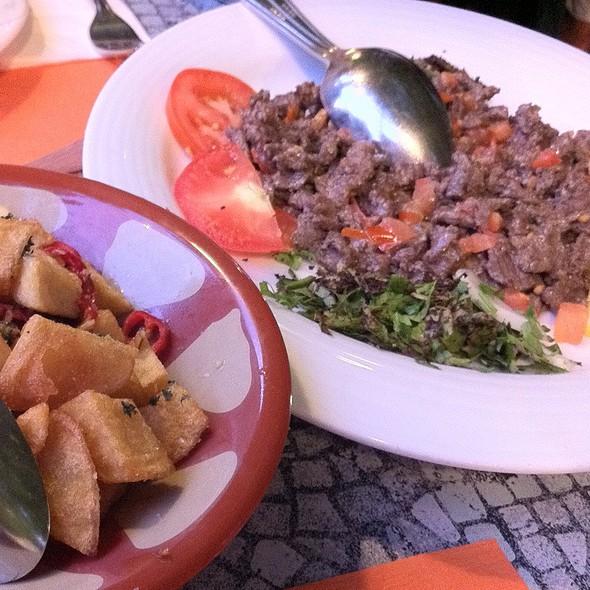 Schawarma @ Restaurant Palme de Beirut