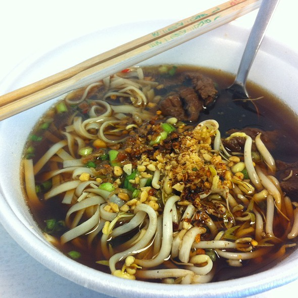 Noodles With Beef @ Noodle Station
