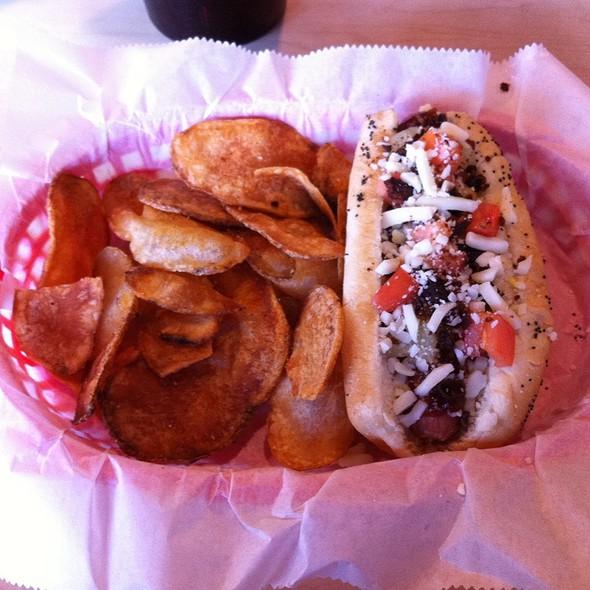 Vienna Beef Hotdog @ Surf Dogs