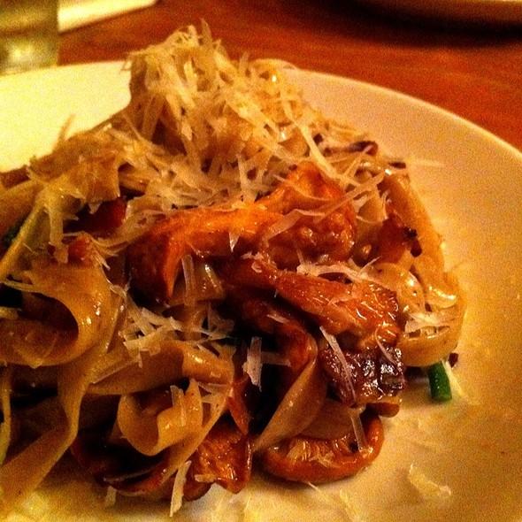Black Olive Fettucine With Chanterelles And Pancetta @ Otto Enoteca & Pizzeria