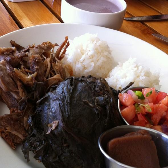 Hawaiian Plate Lunch - Nanea Restaurant and Bar, Princeville, HI