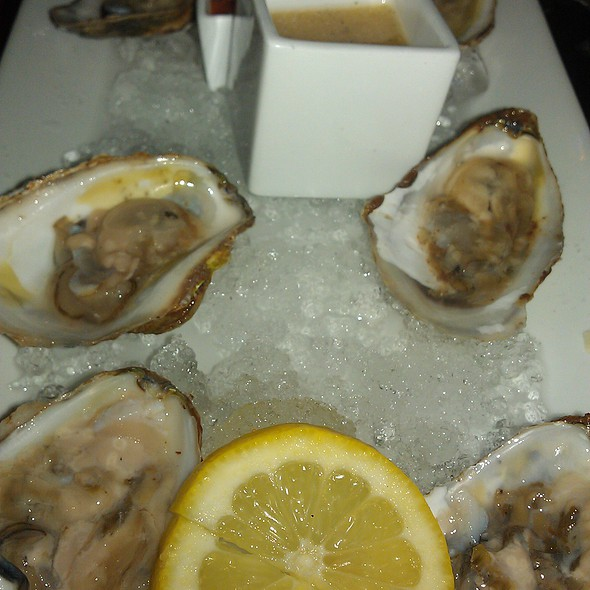 Oysters on the Half Shell - Via Vino Enoteca, St. Louis, MO