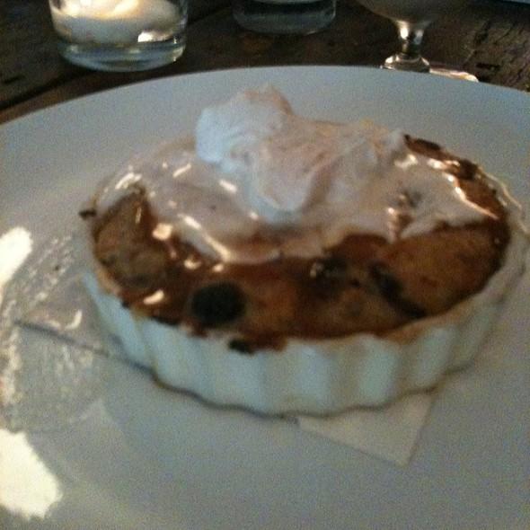 Cinnamon Blueberry Bread Pudding @ Harvest Restaurant