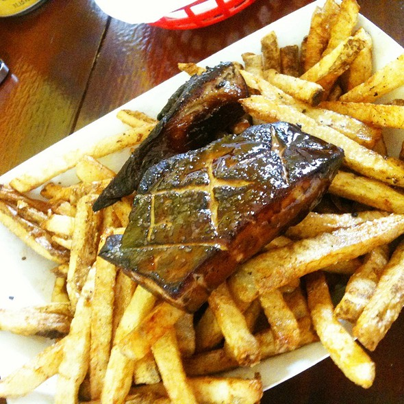 Foie Gras Fries @ Big & Littles