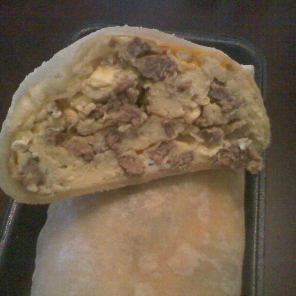 Carne Asada Breakfast Burrito @ Lolita's Taco Shop