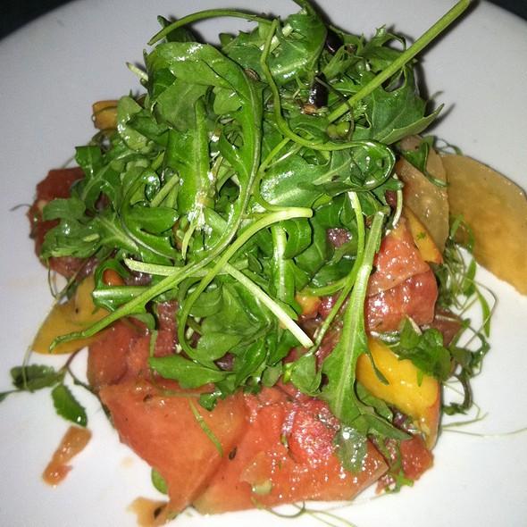 Peach & Melon Arugula Salad - Paragon - Portland, Portland, OR