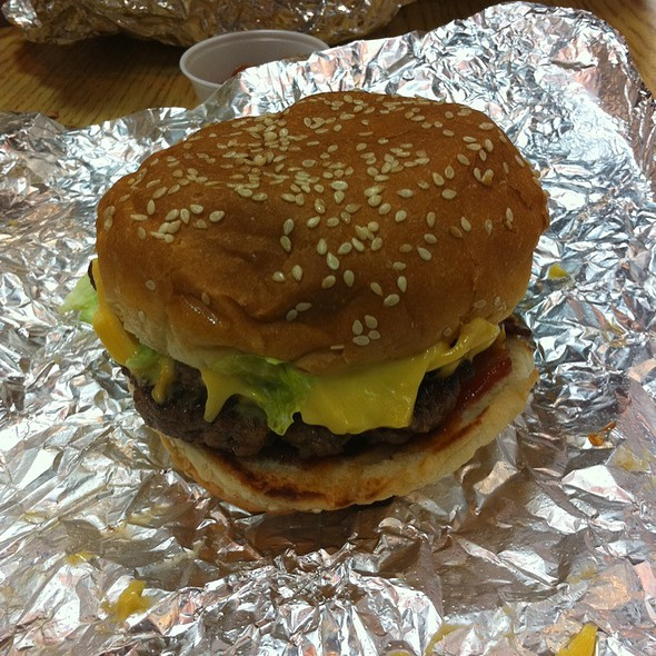 Little Bacon Cheese Burger @ Five Guys Burgers & Fries