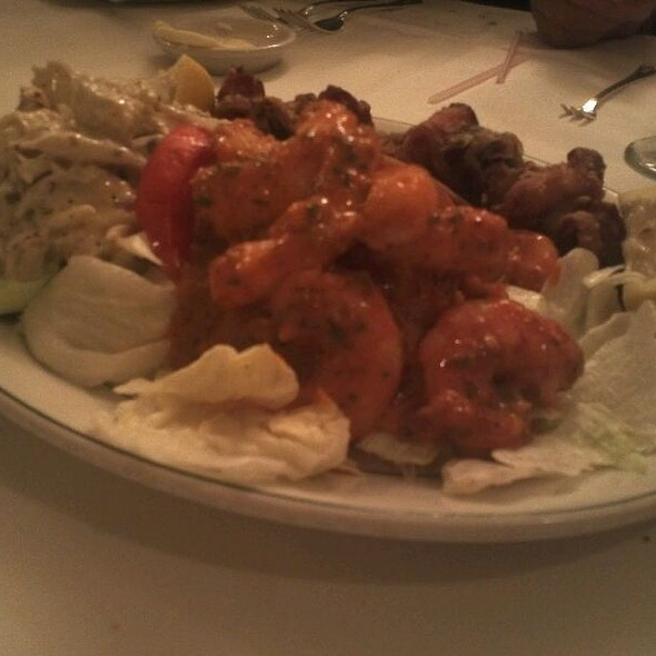 Sampler Of Shrimp Remoulade, Crab And Frid Eggplant  @ Galatoire's Restaurant Inc
