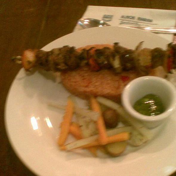 Lamb Kebab @ Almon Marina