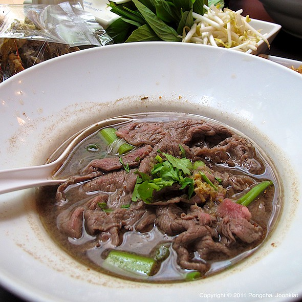 Thai Boat Noodle with Australian Beef