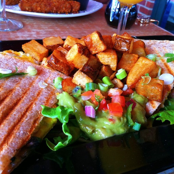 Breakfast Quesadilla - Home Grown Café, Newark, DE