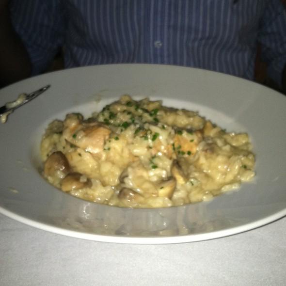 Chicken And Wild Mushroom Rissoto - Cafe La Cave, Des Plaines, IL